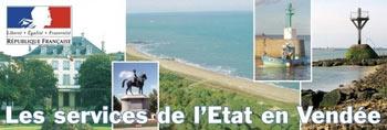 site de la Préfecture de Vendée